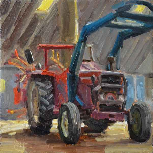 05 tractor 12 x 12cm
