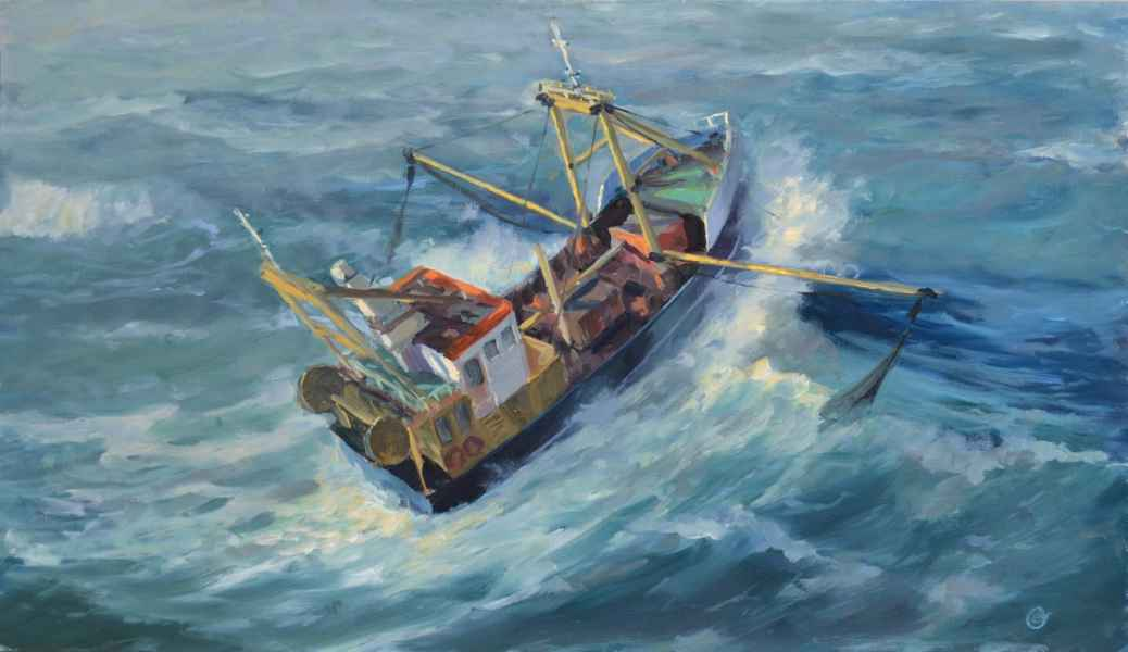 08 vissersboot