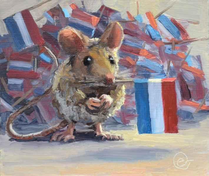 24 de verzamelaar  hoarding mouse